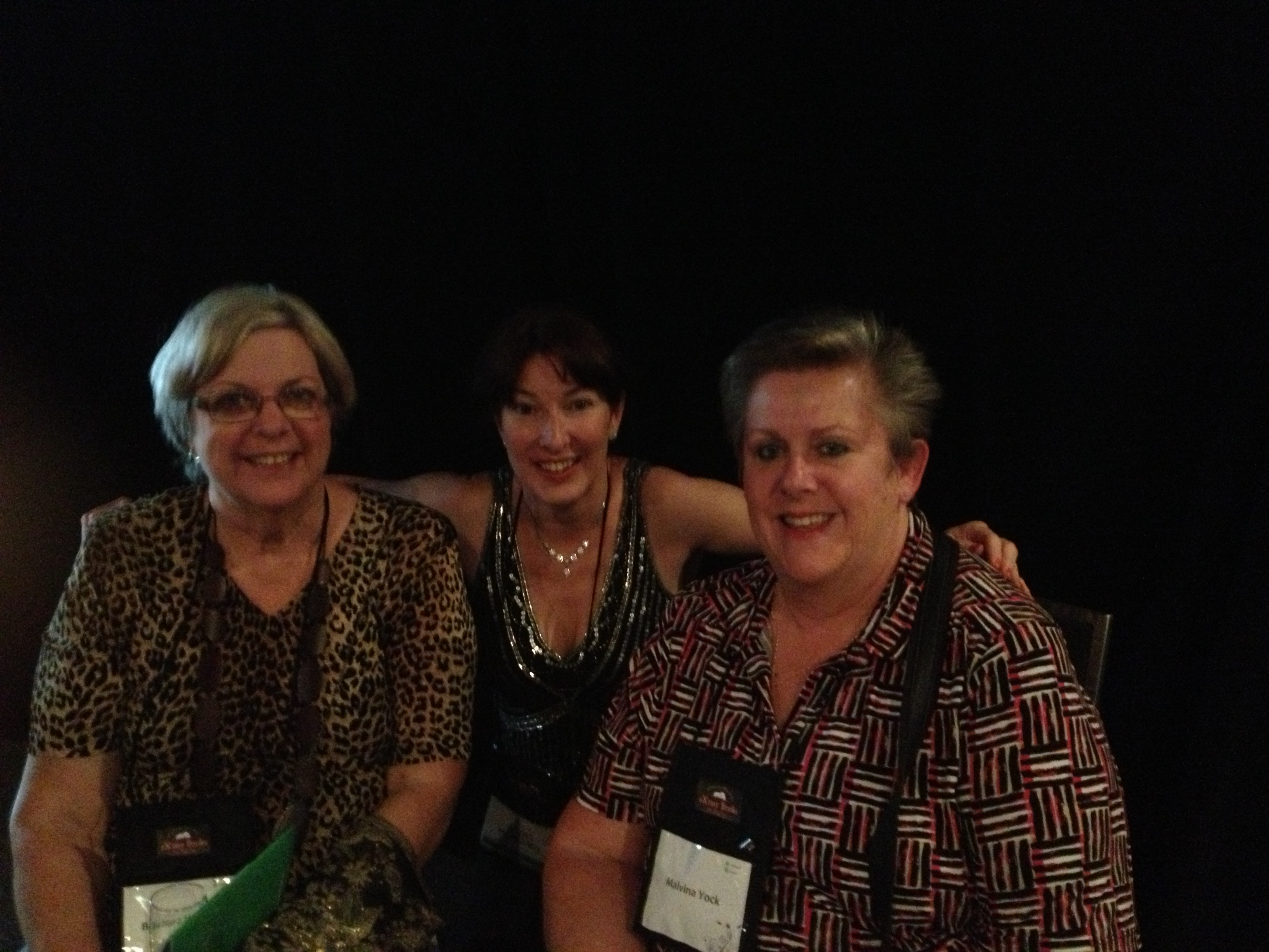 Alyssa J Montgomery, Barbara Hannay and Malvina Yock