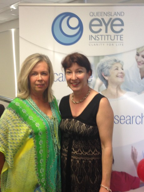 April 5th, 2014 at the Queensland Eye Institute with QEI Community Relations Officer, Jane Dodds