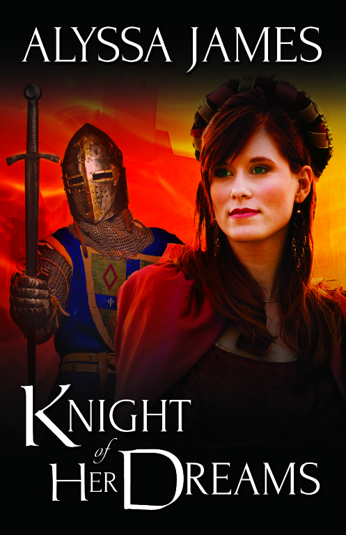 Knight of Her Dreams Postcard jpeg