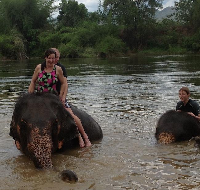 Alyssa J. Montgomery in Thailand