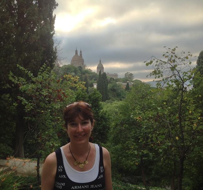 Alyssa J. Montgomery in Barcelona