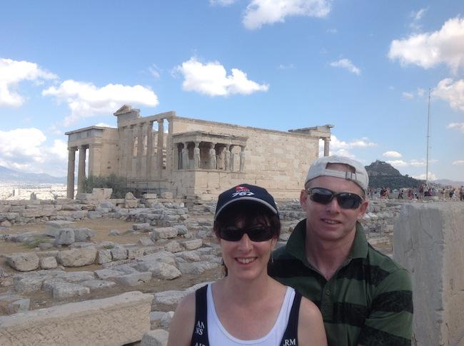 Alyssa J. Montgomery in Athens