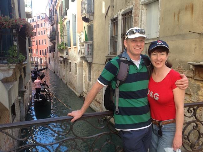 Alyssa J. Montgomery in Venice